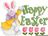 Free Easter Bunny Wallpaper HD Full Size