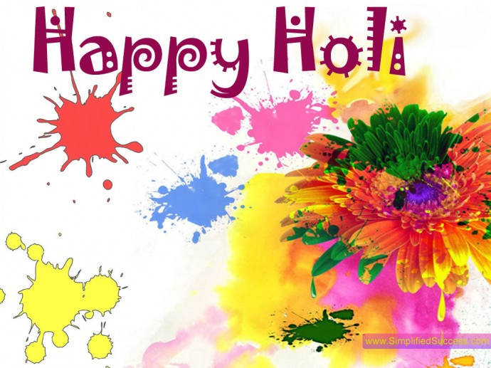 Free Holi Wallpaper HD