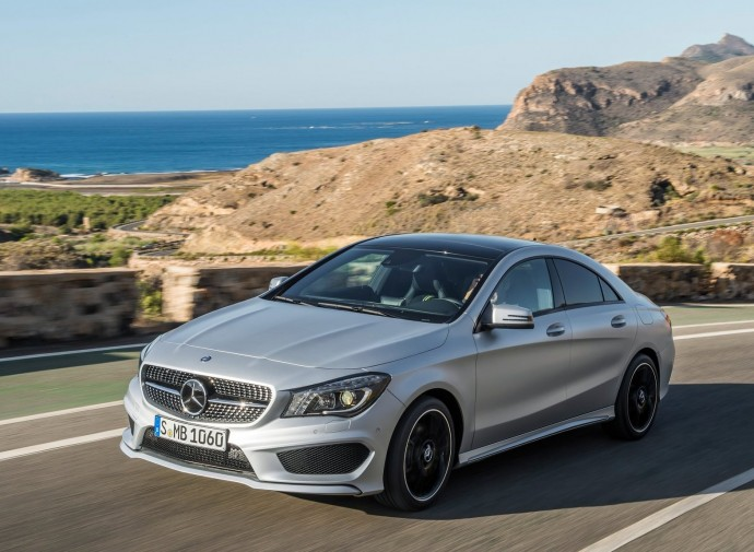 Free Mercedes-Benz CLA-class Wallpaper HD