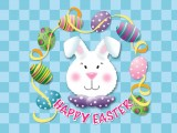 Happy Easter Bunny Wallpaper 1024x768