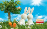 Happy Easter Bunny Wallpaper Full HD
