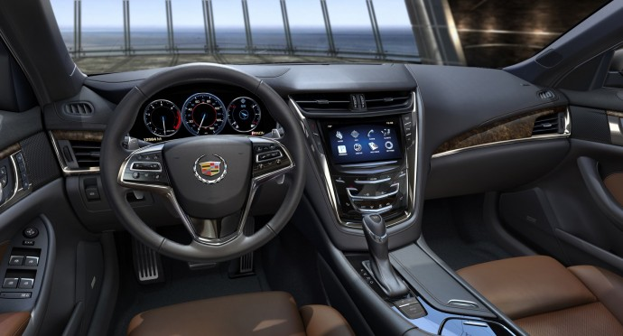 New Cadillac CTS 2014 Interior Wallpaper HD