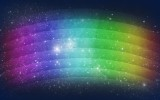 Rainbow Abstract Colorful HD 1080p