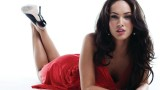 Red Megan Fox Wallpaper HD 1920x1080