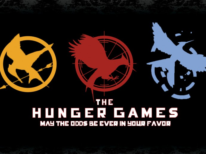 The Hunger Games Logo Wallpaper HD