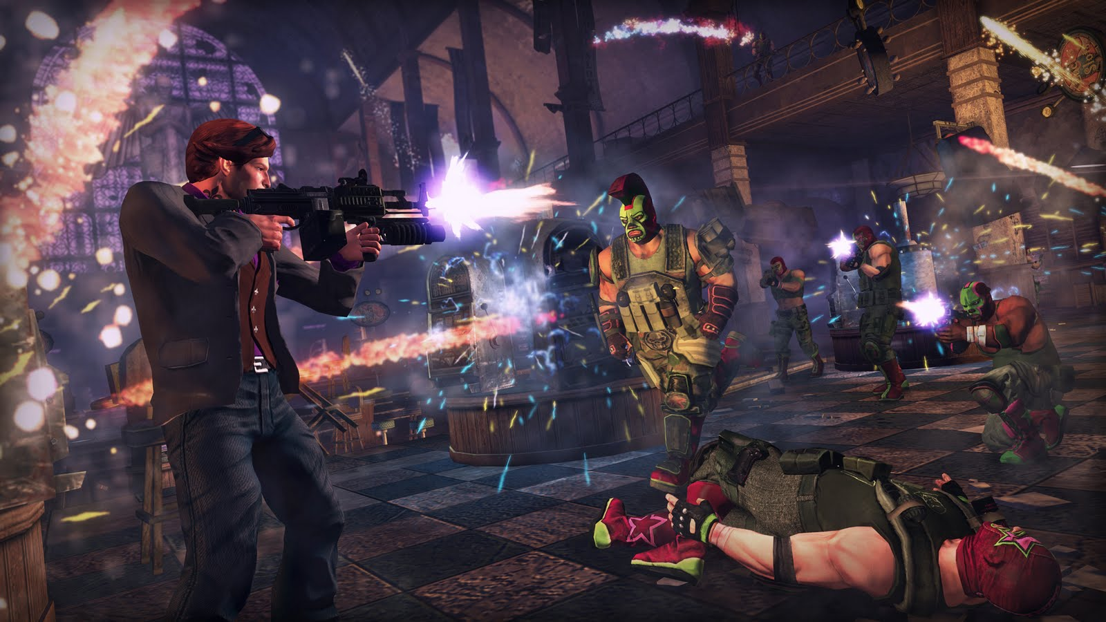 File Name : Wallpapers Saints Row 4 1600×900