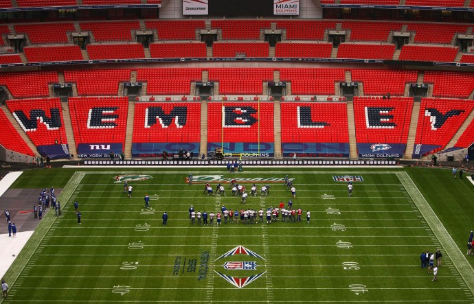 Wembley Stadium Interior Wallpaper Full HD