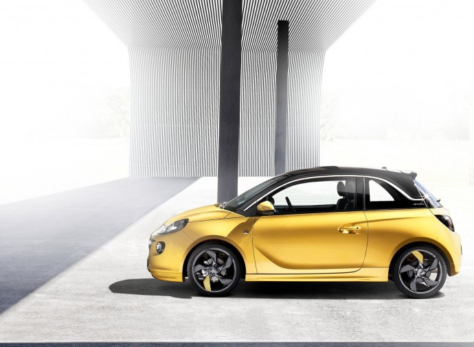 Download Opel Adam 2013 Wallpaper HD