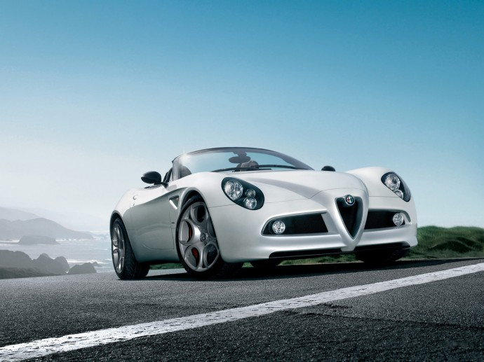 Alfa Romeo 8C Spider HD Wallpaper 1280x960