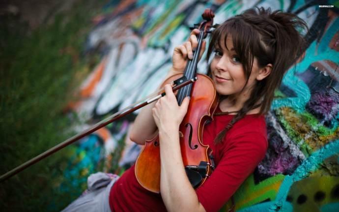 Beautiful Lindsey Stirling Wallpaper HD