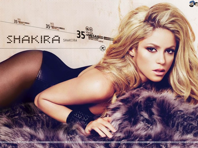 Download Shakira Pique Photo