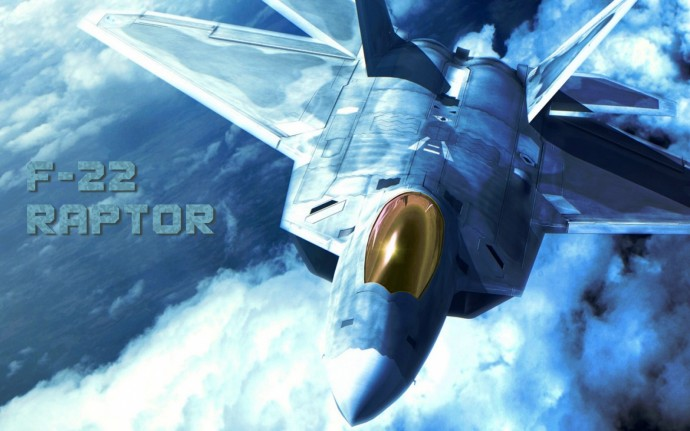 F 22 Raptor HD Wallpaper