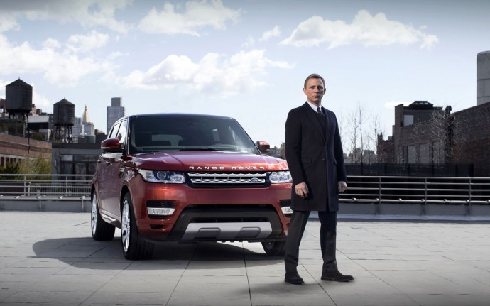 James Bond Range Rover Sport 2014 1920x1200