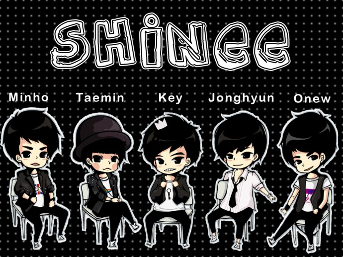 K-Pop Big Bang Cartoon