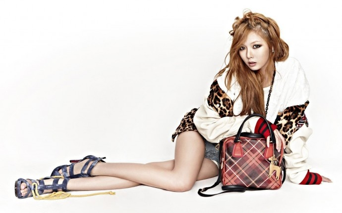 Kim Hyuna Wallpaper Widescreen