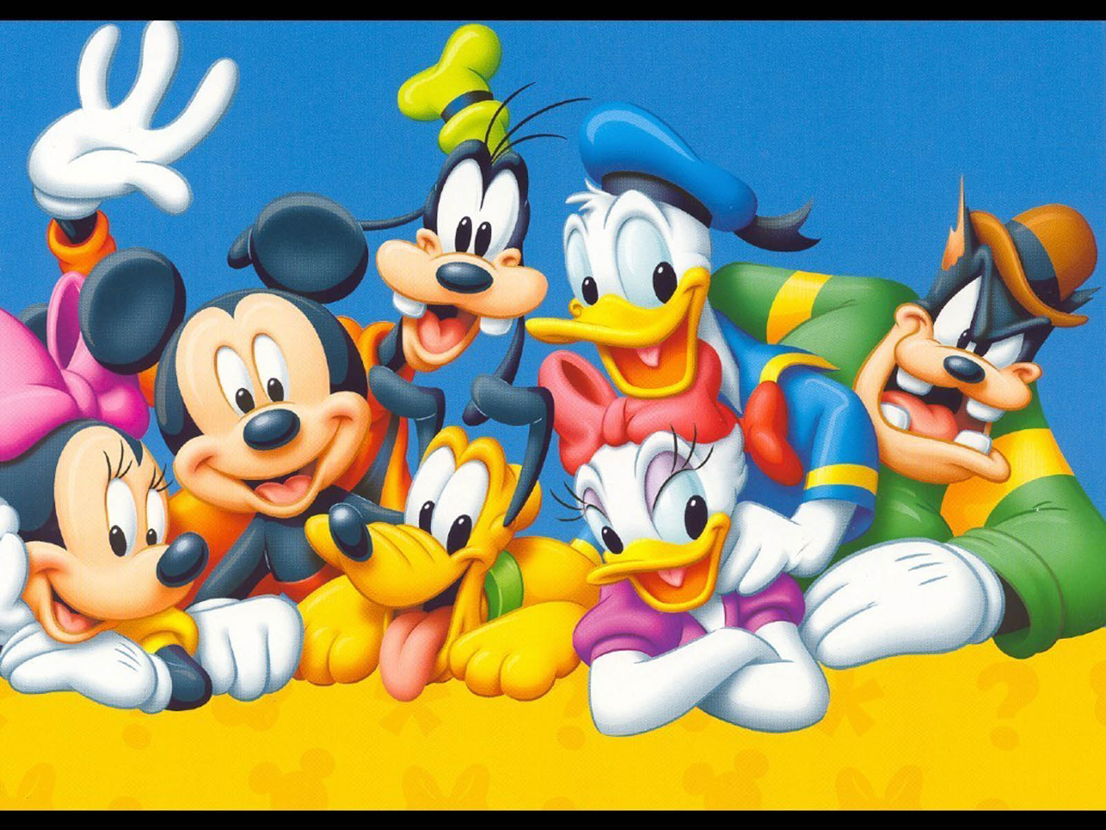 Baby mickey mouse and friends birthday