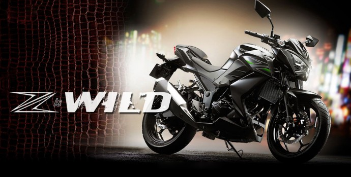 New Kawasaki Z250 HD Wallpaper