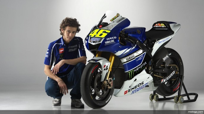 Valentino Rossi 2013 Yamaha Wallpaper HD
