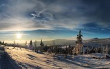 Winter Evening Wallpaper Widescreen