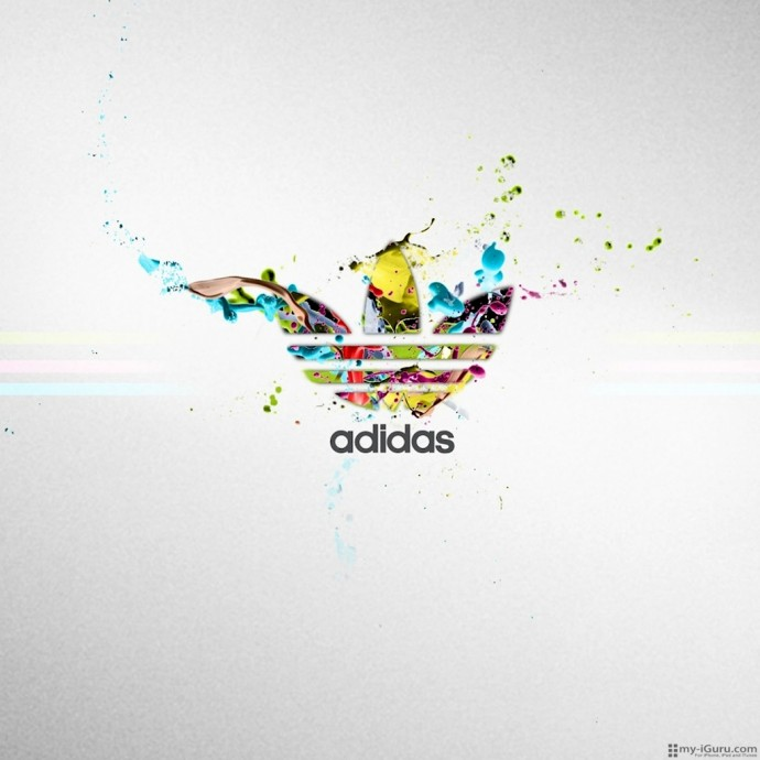 Adidas iPad 1024 x 1024 Wallpaper