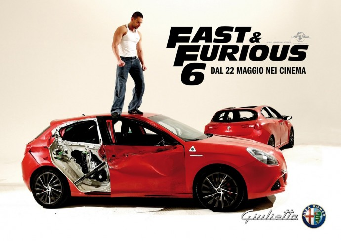 Alfa Giullietta Fast and Furious 6 Wallpaper
