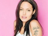 Angelina Jolie Tatto Wallpaper