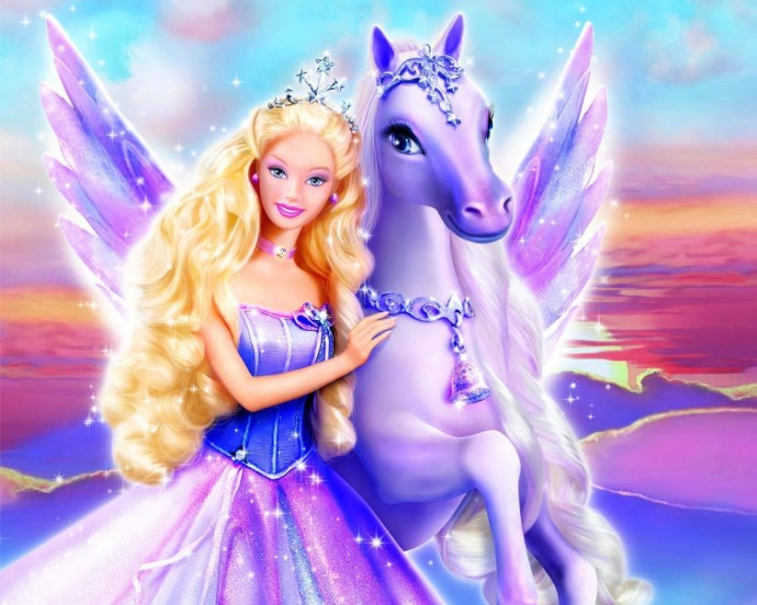Barbie Magic Of The Pegasus Wallpaper