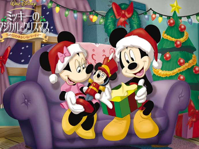 Christmas Mickey Mouse Wallpapers