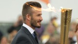 David Beckham New Hairstyle Wallpaper