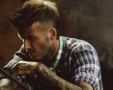David Beckham New Hairstyle Wallpapers