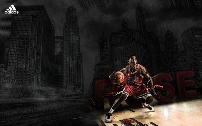 Derrick Rose Chicago Bulls Wallpaper Full HD