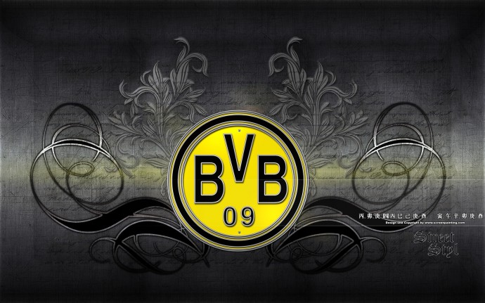 Free BVB Logo Wallpaper Widescreen