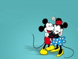 Free Mickey Mouse and Minnie Mouse