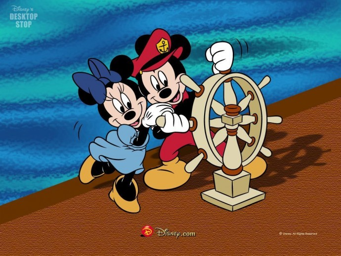Free Mickey Mouse and Minnie Mouse Wallpaper
