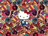 Hello Kitty Logos Wallpaper