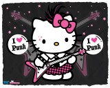 Hello Kitty Punk Wallpaper