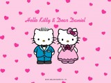 Hello Kitty and Dear Daniel Wedding Wallpaper