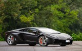 Lamborghini Aventador IP700-4 Black Wallpaper