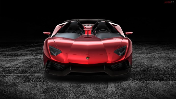Lamborghini Aventador J Wallpaper Background