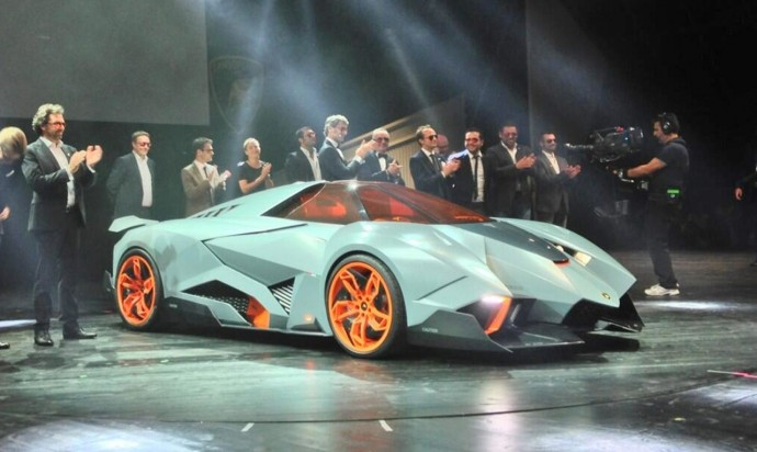 Lamborghini Egoista HD Wallpaper
