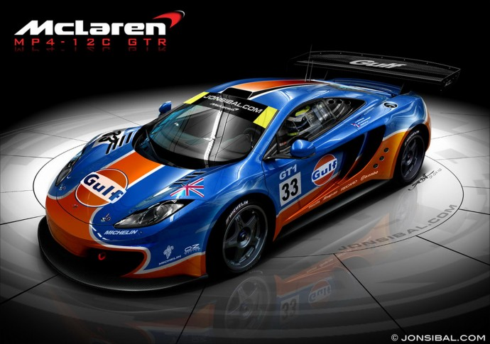 McLaren MP4 12C GTR HD Wallpaper
