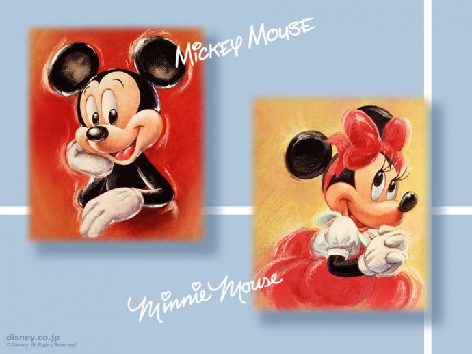 Mickey Mouse and Minnie Mouse Wallpapers