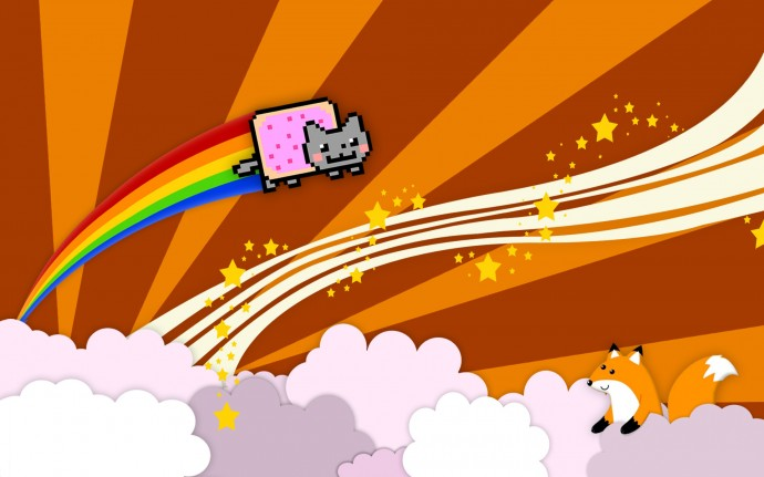 Nyan Cat HD Wallpaper