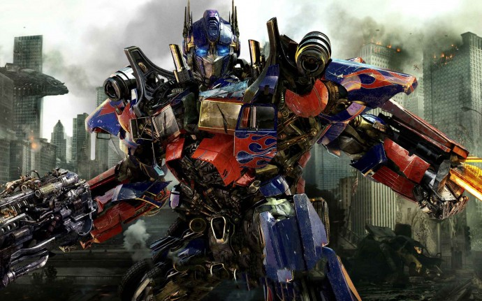 Optimus Prime in New Transformers Wallpapers