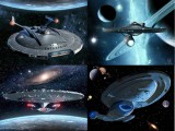 Star Trek Starships HD Wallpaper