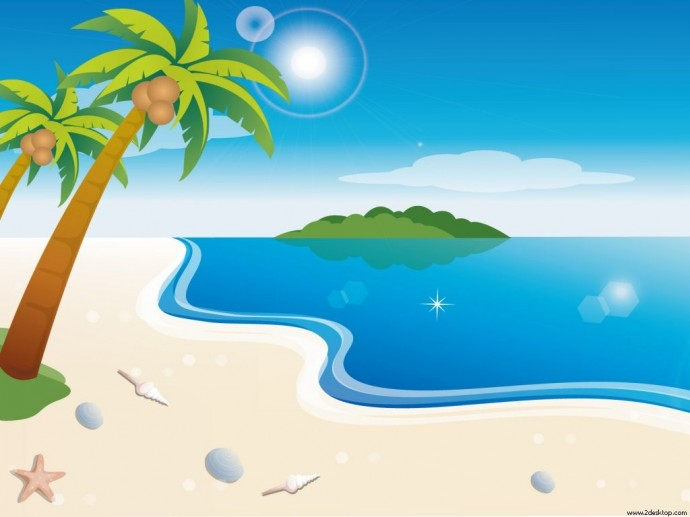 Summer Beach Praia Wallpaper
