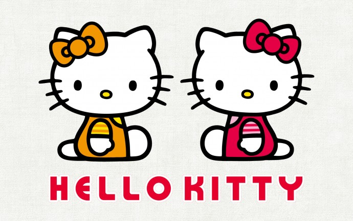 Wallpaper Hello Kitty Couple