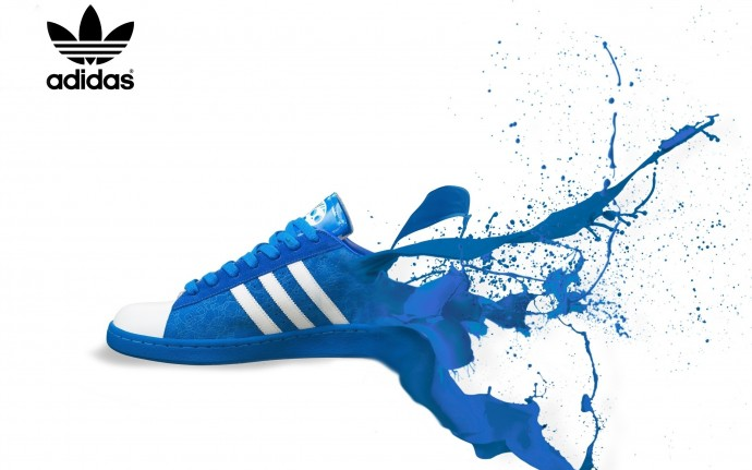 Wallpapers Blue Adidas