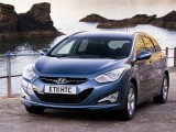 2012 Hyundai i40 Tourer Blue Wallpaper