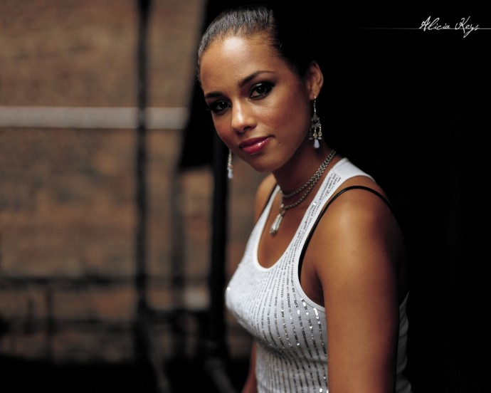 Alicia Keys Background Wallpaper